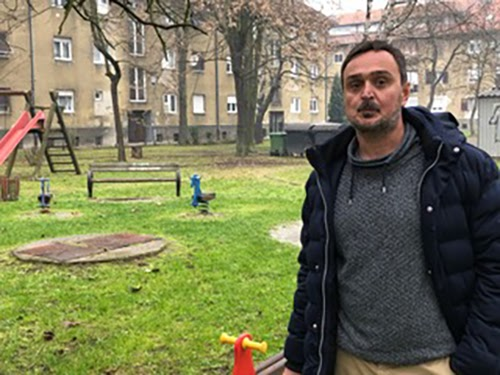 Mladen Vladetić, Park