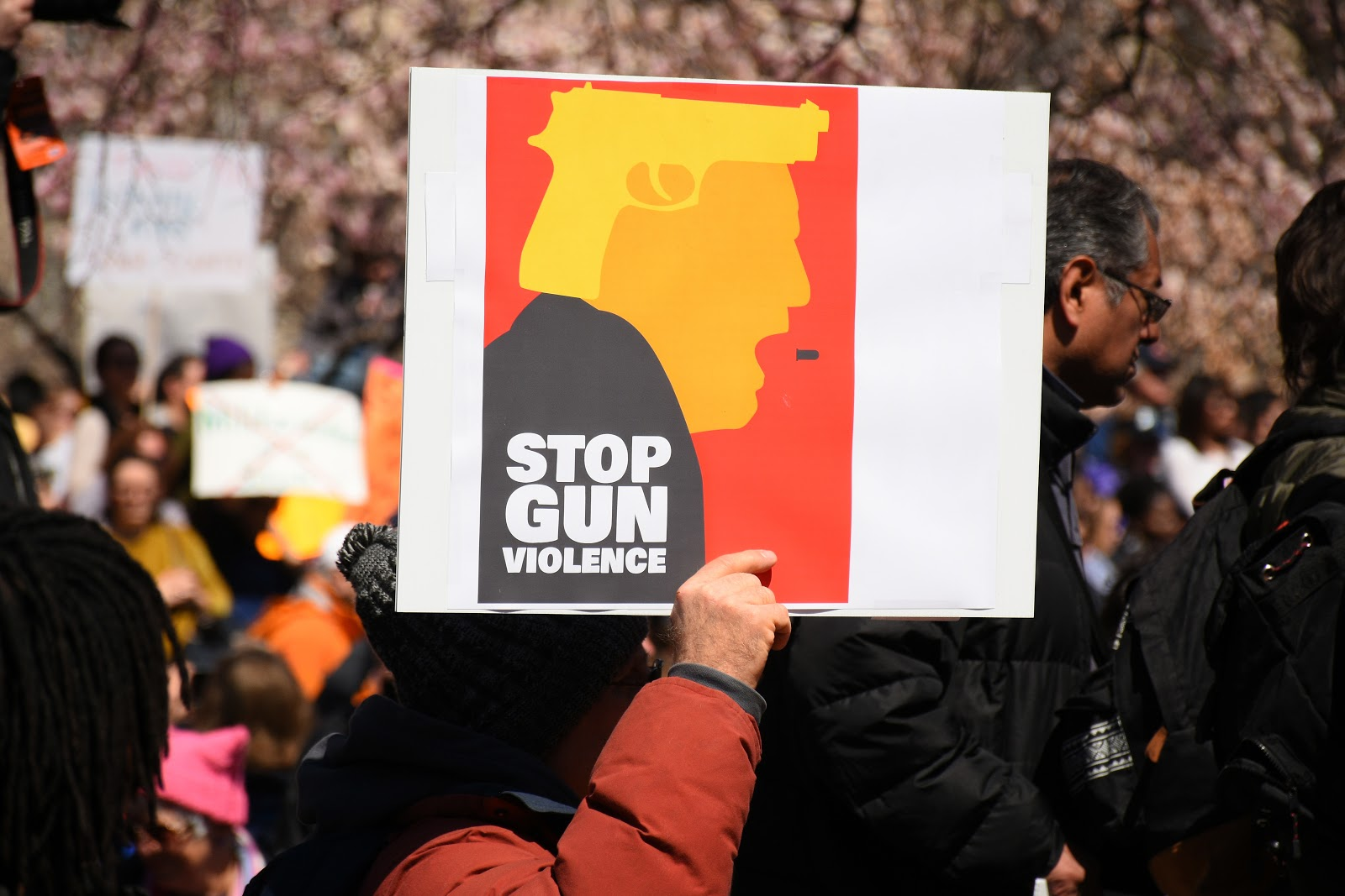 Stop Gun Violence, Trump, March for Our Lives