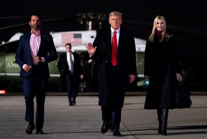 Donald Trump, Ivanka Trump, Donald Trump Jr.