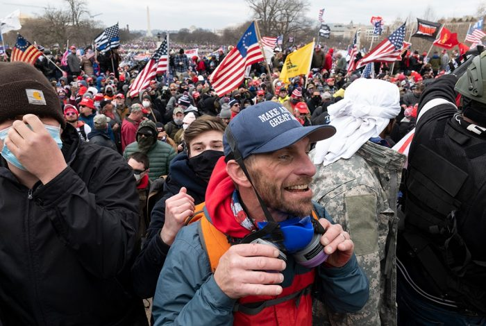 Trump protestors, US Capitol