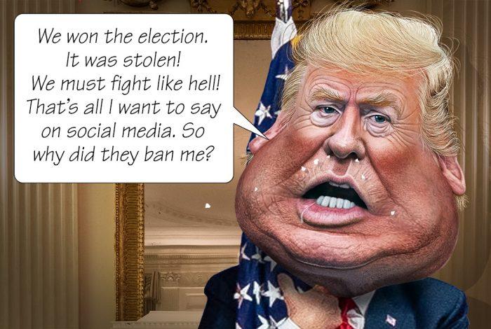 Donald Trump, social media