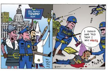 Donald Trump, Capitol Riot