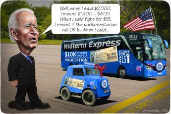 Joe Biden, midterm elections, campaign promises