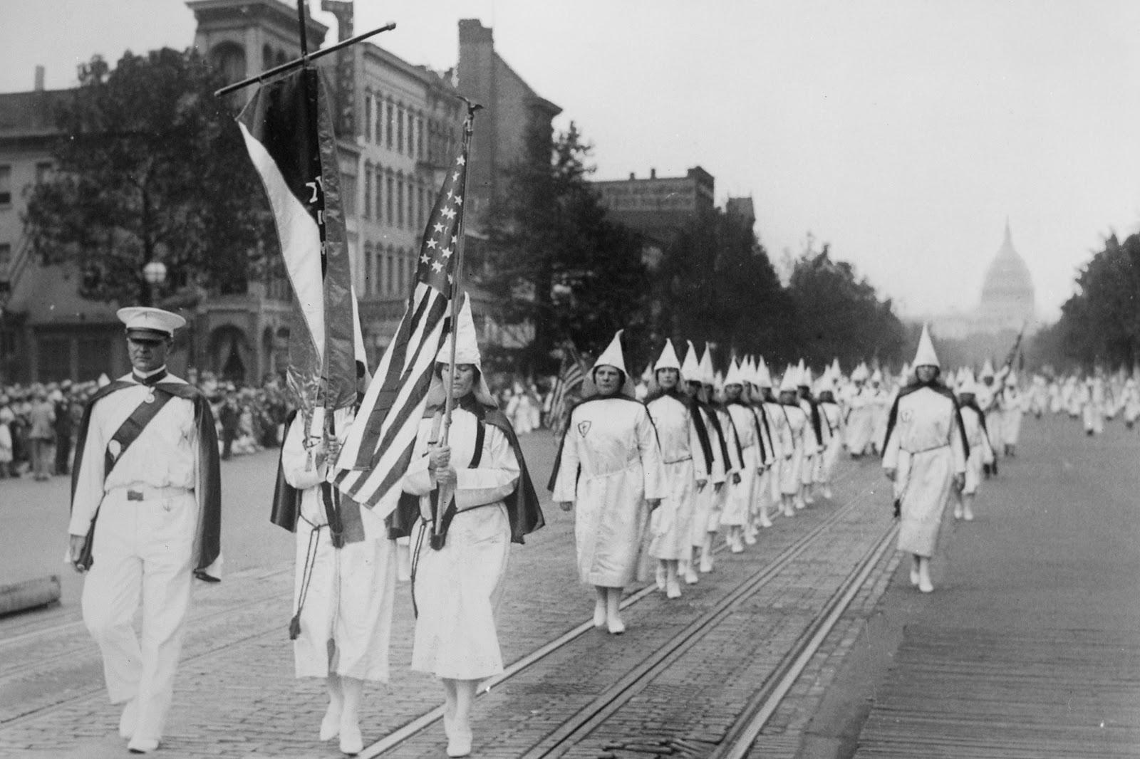 Ku Klux Klan, parade, Washington, DC