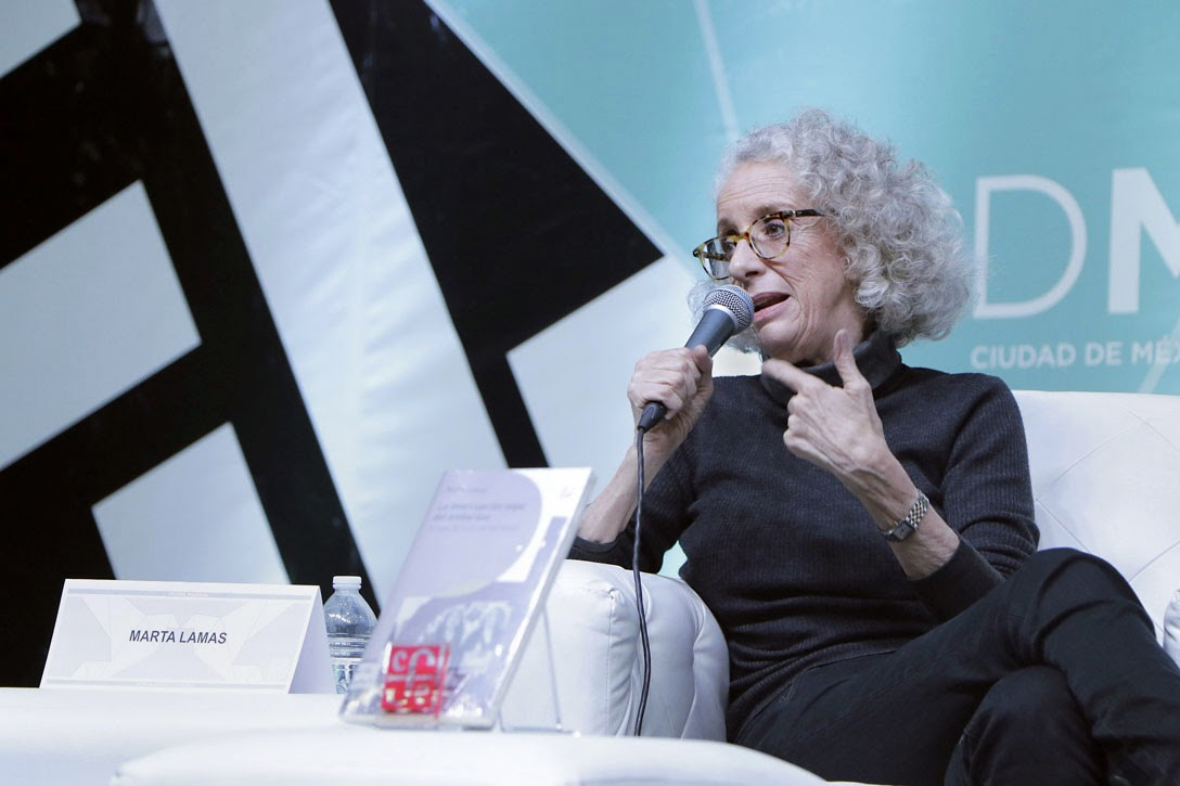 Marta Lamas Speaking in Mexico City, Mexico