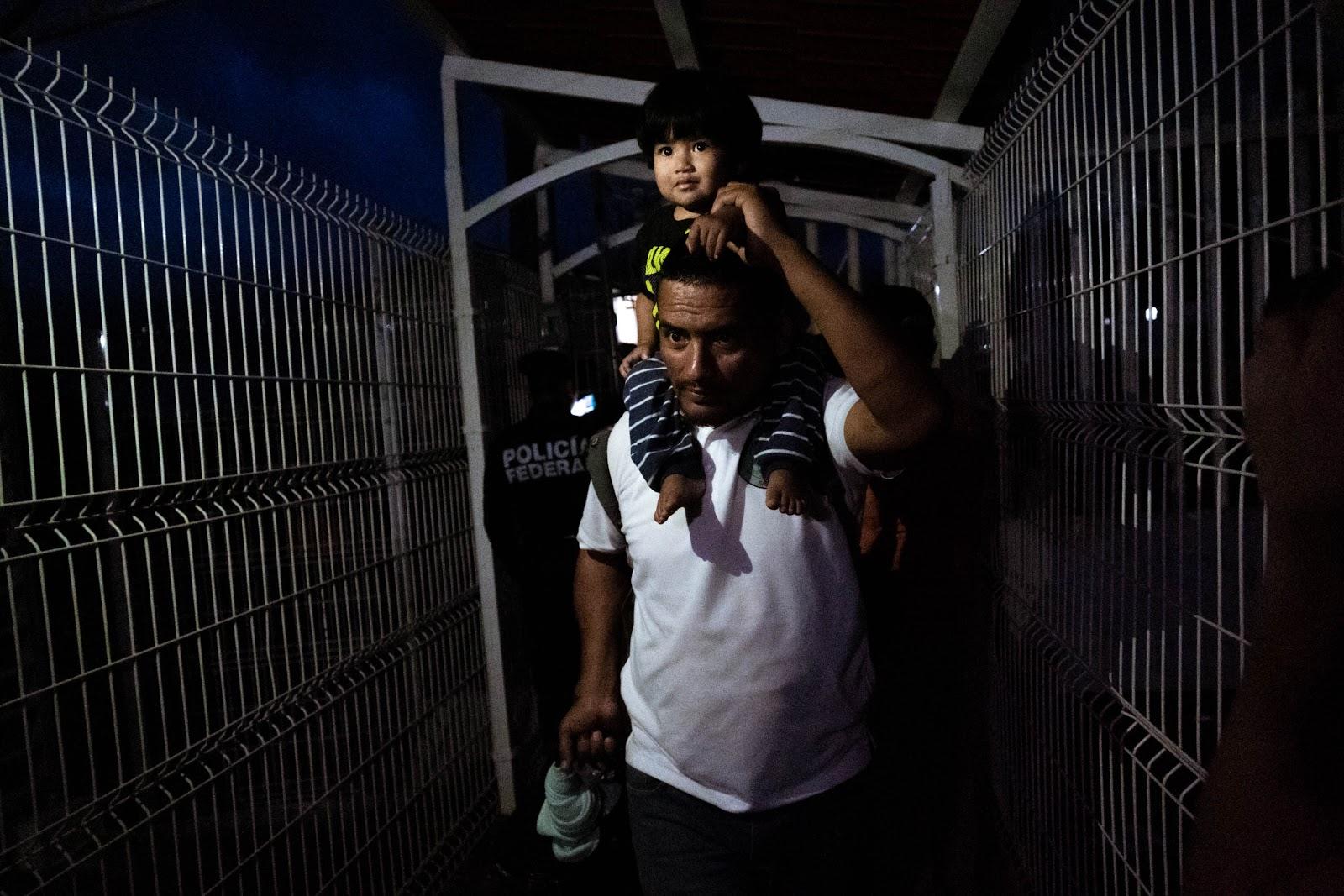 migrant, father, Honduras