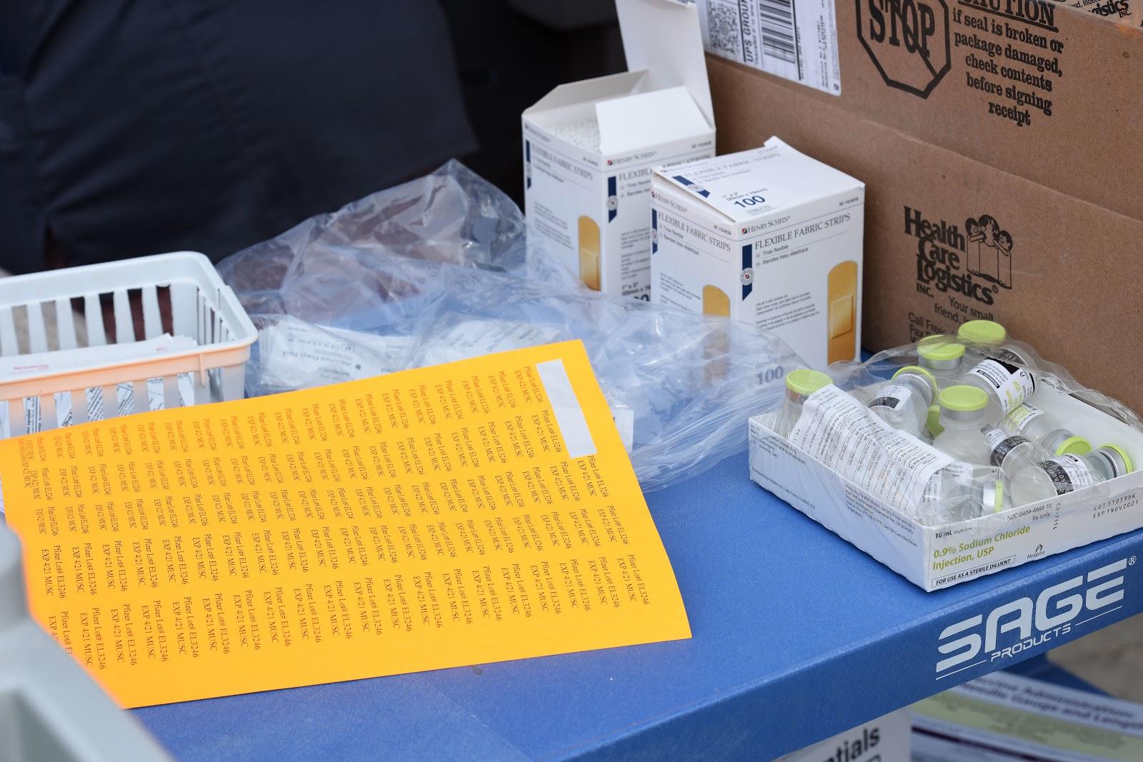 South Carolina National Guard, COVID-19 vaccinations