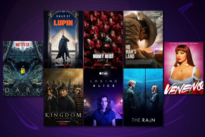 popular streaming titles