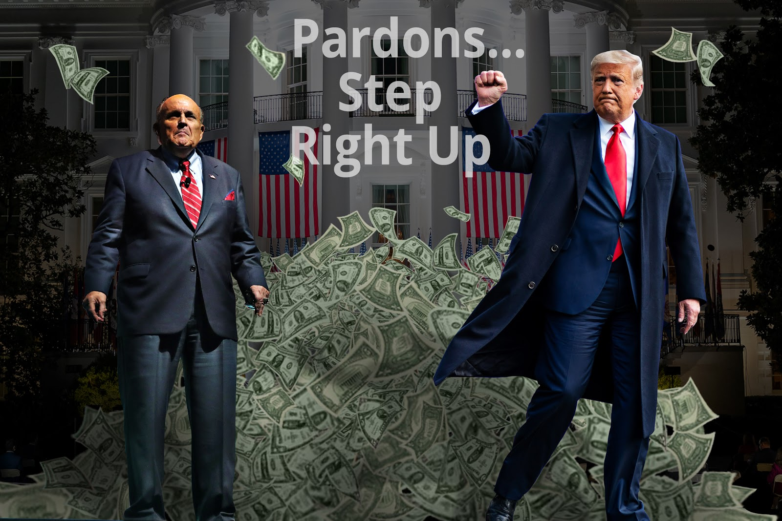 Rudy Giuliani, Donald Trump, Presidential Pardons