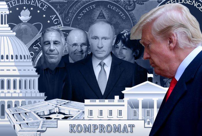 Donald Trump, Vladimir Putin, Jeffrey Epstein, Ghislaine Maxwell, Rudy Giuliani