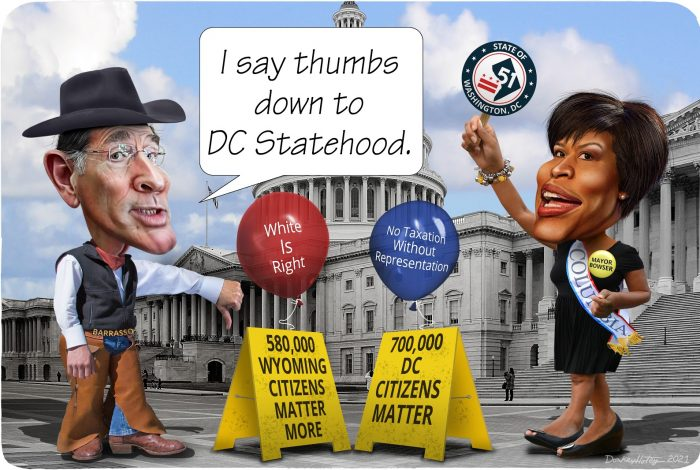 DC Statehood, John Barrasso, Muriel Bowser