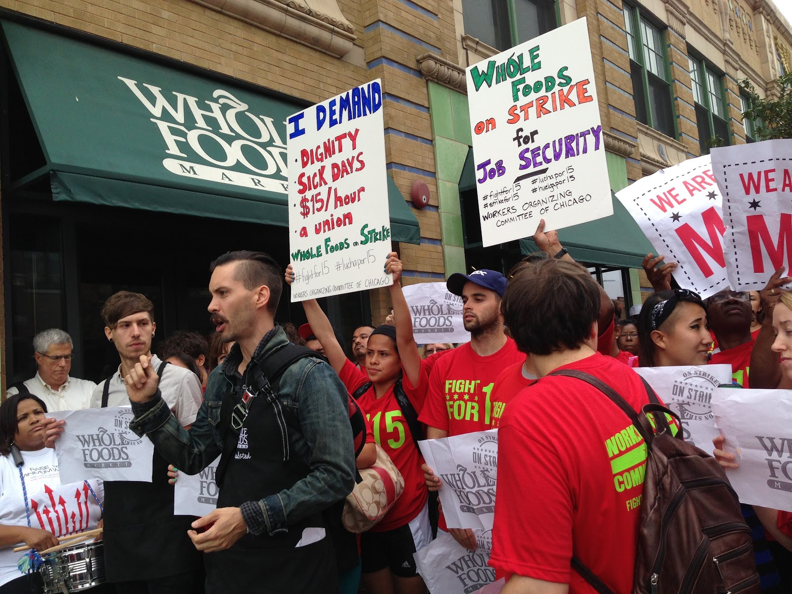 Fight for 15, Chicago, Whole Foods