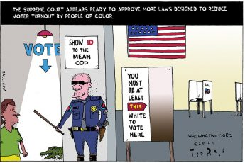Supreme Court, voter suppression