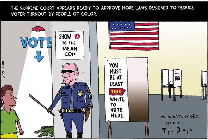 Supreme Court, voter suppression