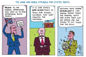 States Rights, racism