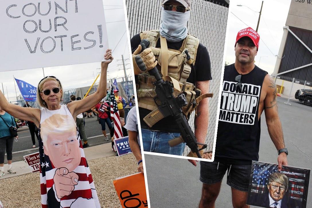 Arizona, Trump supporters