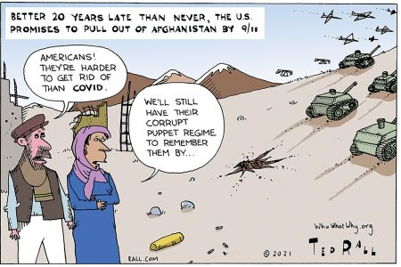Afghanistan, pull out, COVID