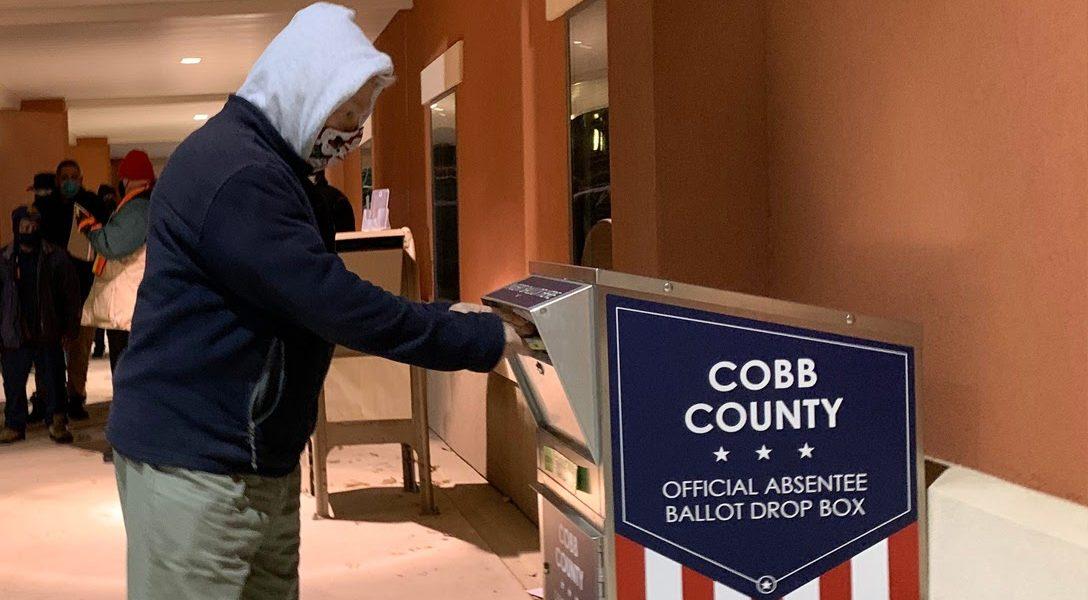 absentee ballot. Georgia