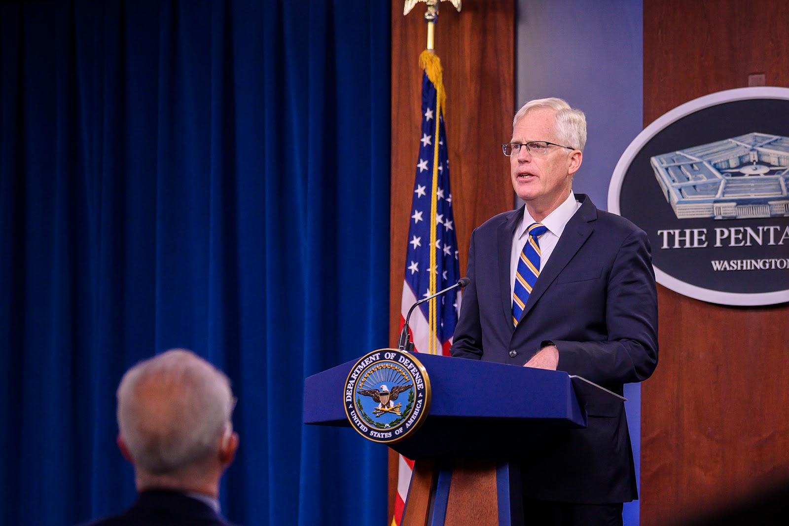 Acting Defense Secretary, Christopher Miller