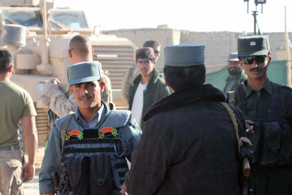 Afghan police, Helmand
