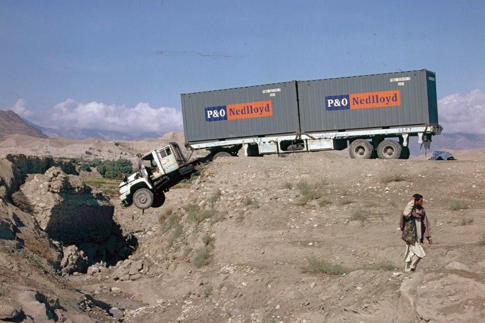 Afghanistan, transport truck