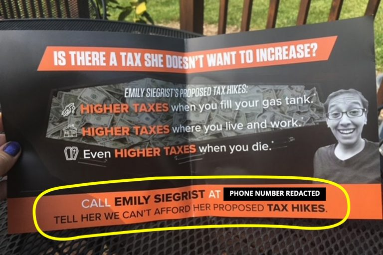 Wisconsin Manufacturers & Commerce, Emily Siegrist, doxxing