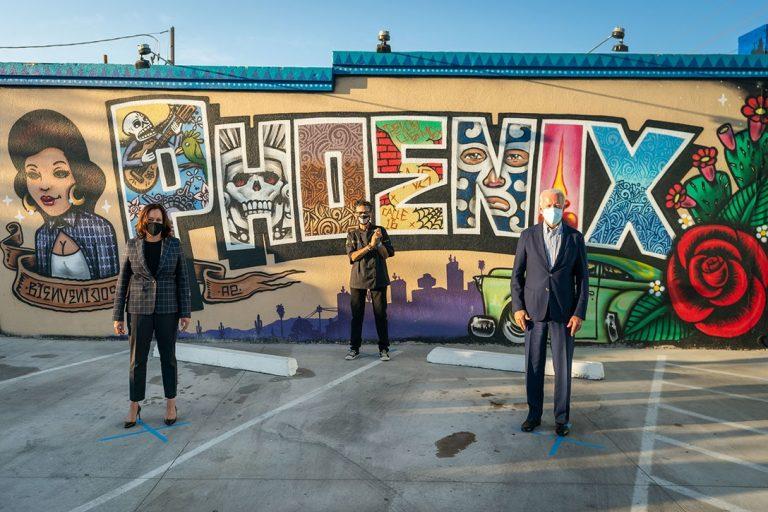 Joe Biden, Kamala Harris, Arizona