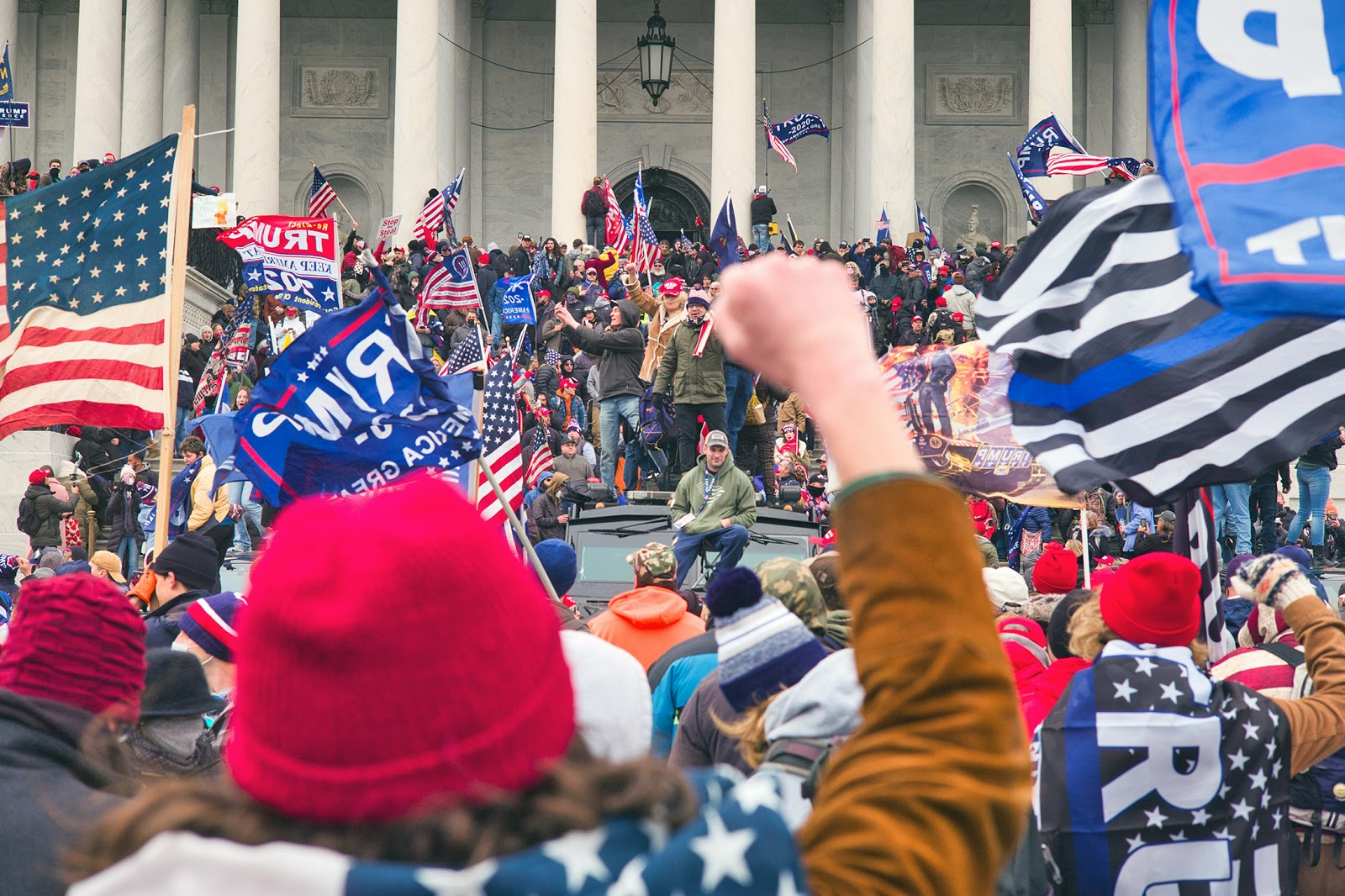 Storming the Capitol, January 6