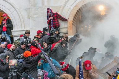 Capitol, Trump, Protesters, tear gas