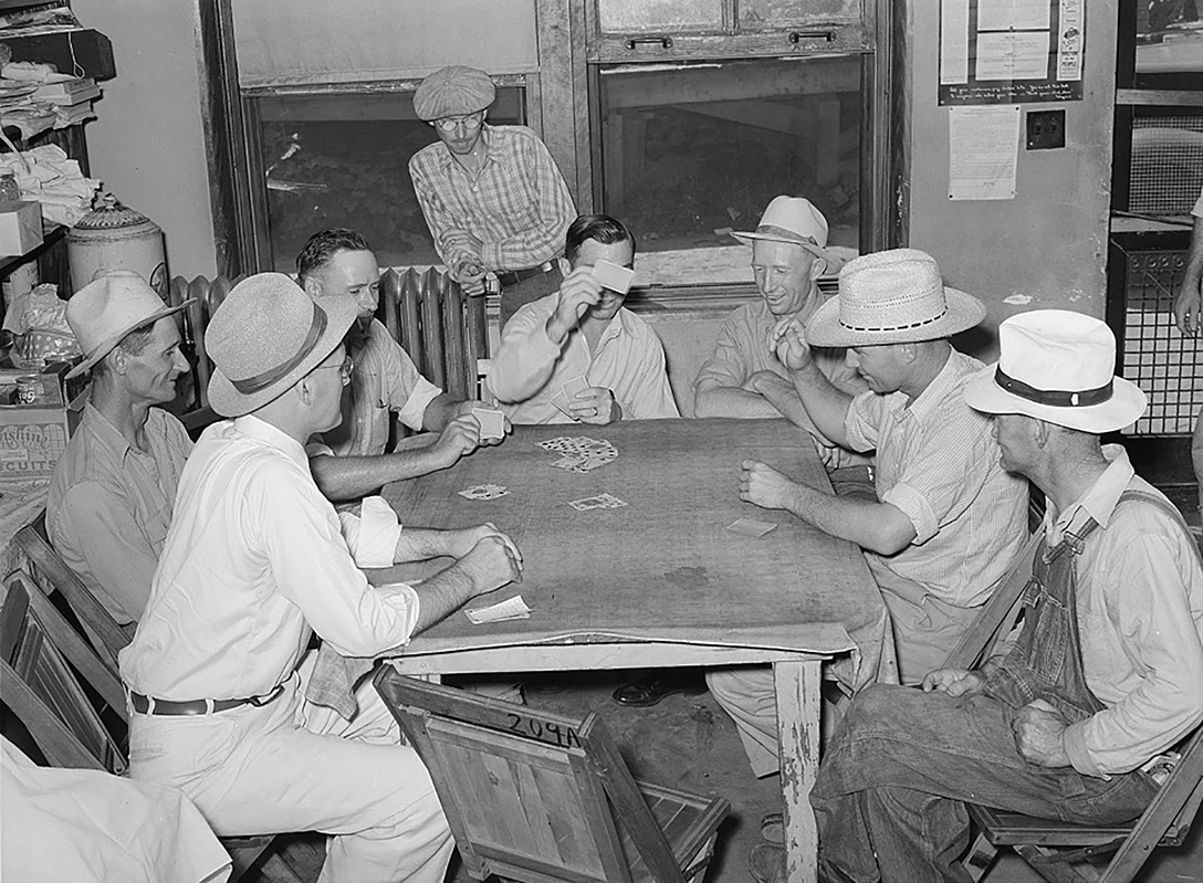 Card Game, Oil Workers