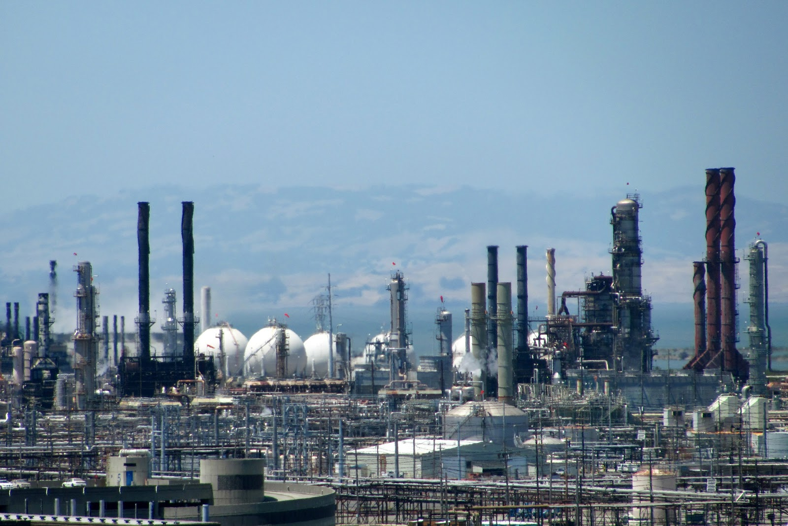 Chevron Richmond Refinery, CA