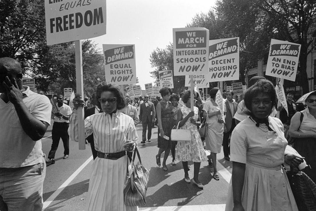 Civil rights march, Washington, DC, 1963