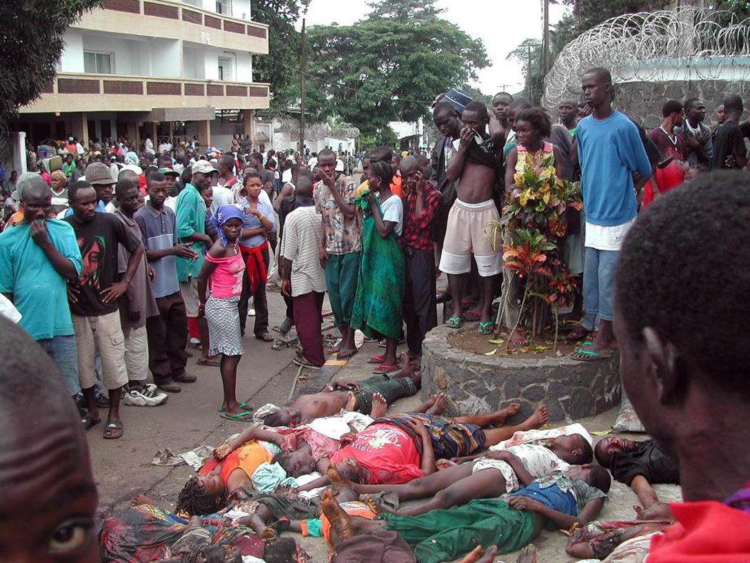 Civilian casualties in Liberia's civil wars