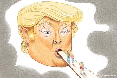 Donald Trump, Floating Head