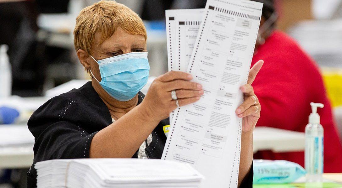 Dekalb County, election worker