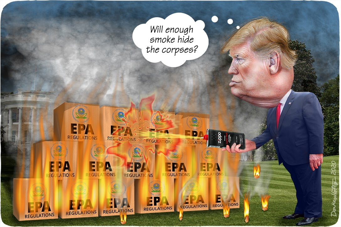 Donald Trump, EPA