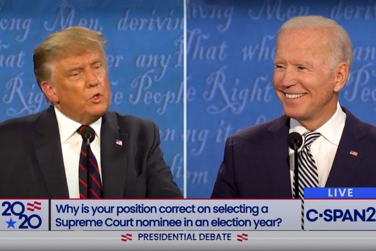 Donald Trump, Joe Biden, 2020, Debate