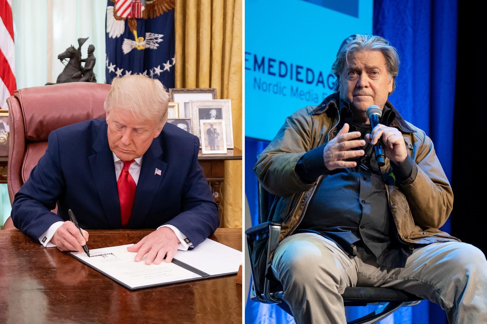 Donald Trump, Steve Bannon, Pardons