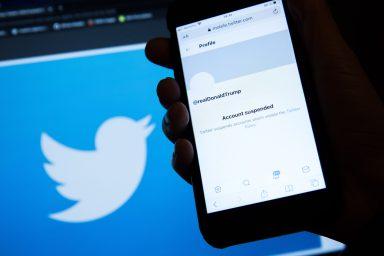 Donald Trump, Twitter, suspended