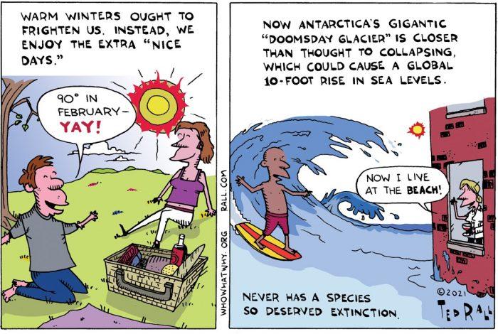 Climate Change, Doomsday Glacier