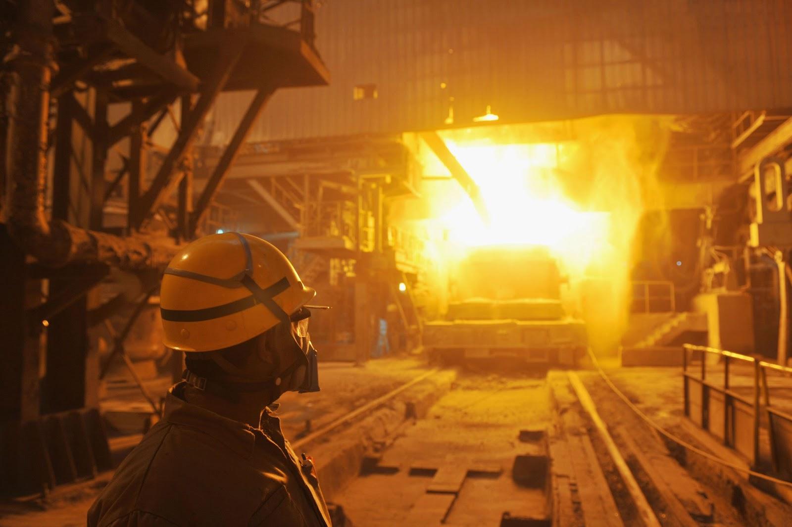 Ezz Steel, blast furnace, Egypt