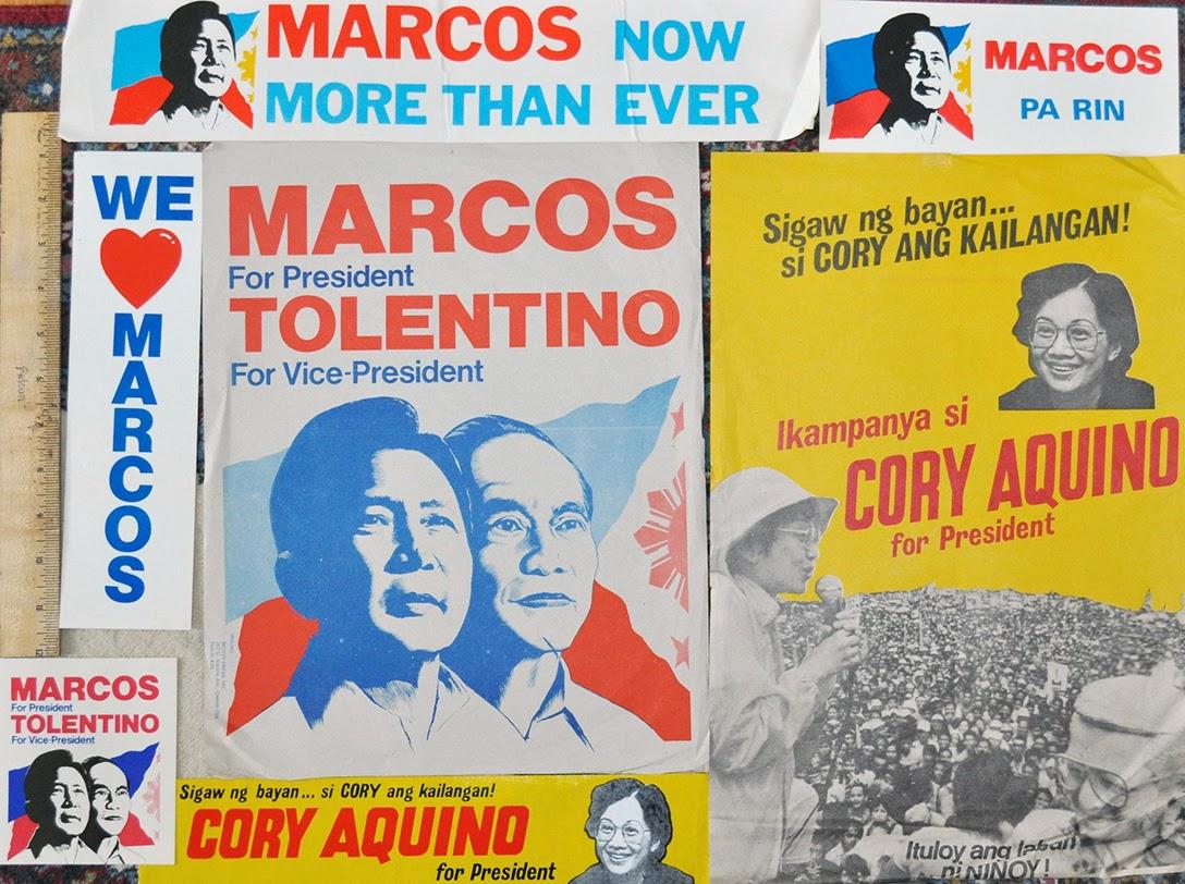 Ferdinand Marcos, Corazon Aquino