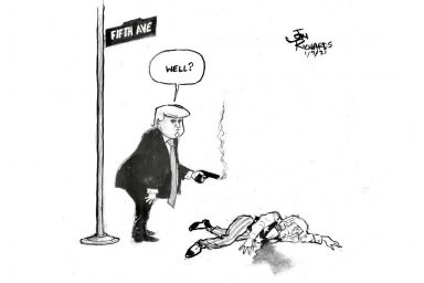 Donald Trump, Fifth Avenue