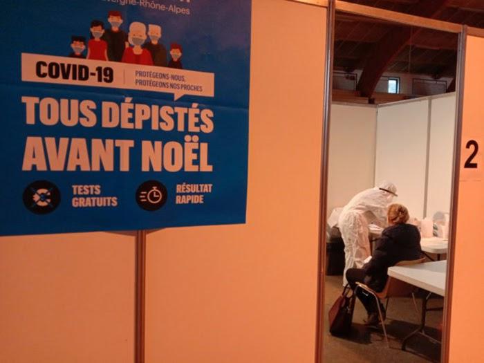 France, rapid-testing program