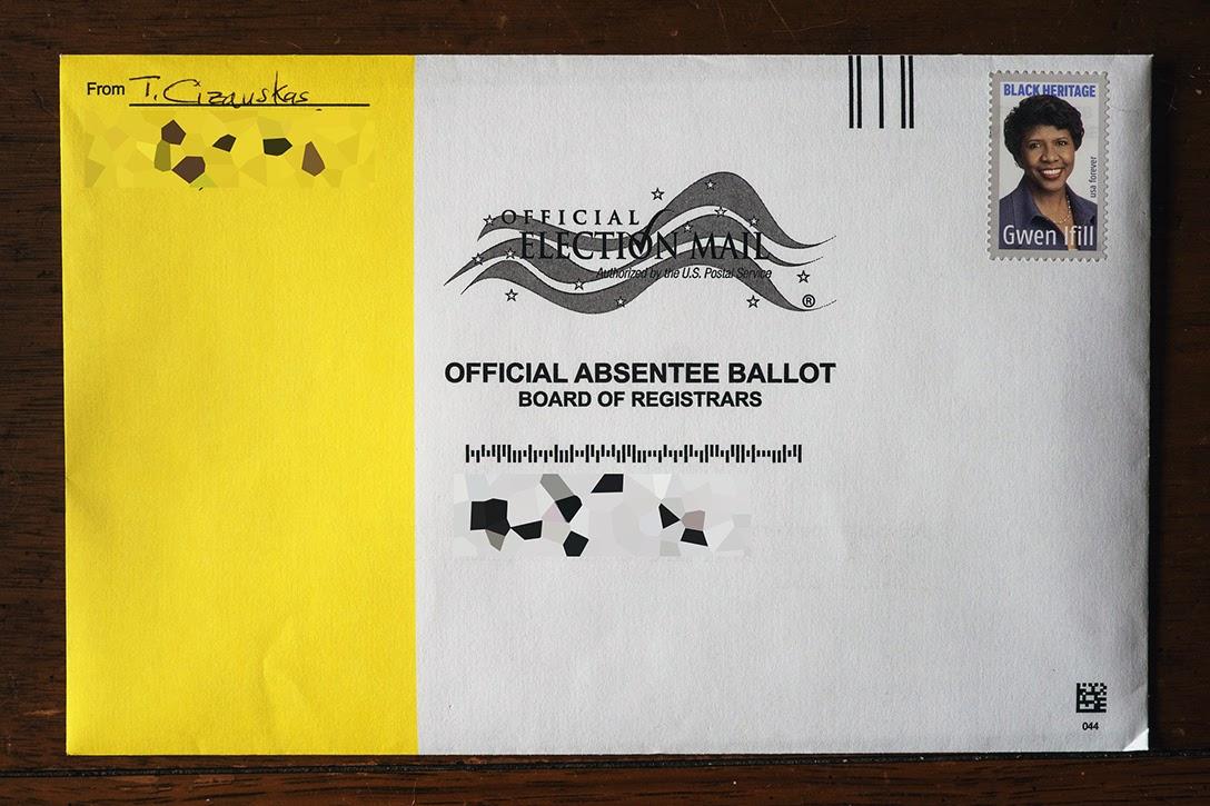 Georgia, absentee ballot