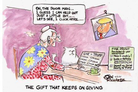Donald Trump, Campaign, scam
