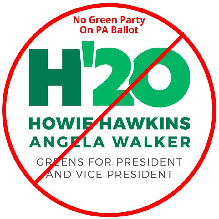 Hawkins, Walker, 2020, Green Party