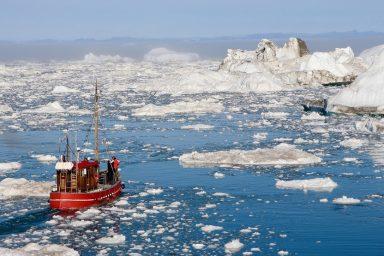 Greenland, ice, ocean