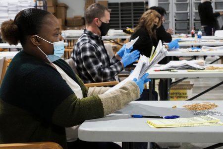 Gwinnett County, Georgia, election workers