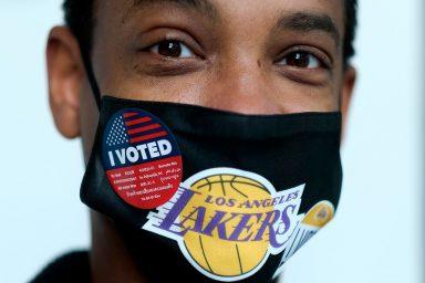 ballot, drop box, West Hollywood